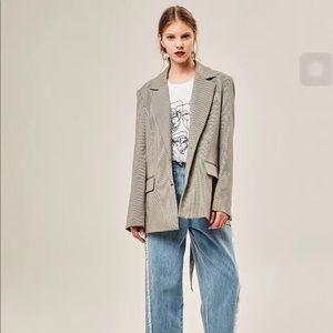 HeYTao Fashion Design chic Blazer Jacket